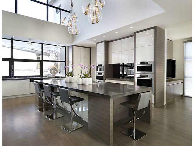 High Gloss Cabinetry